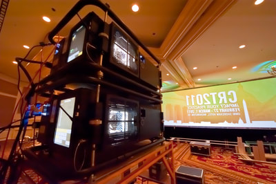 Medical Conference using K2imaging projectors