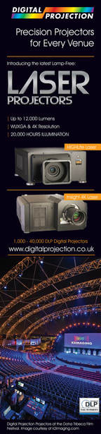 digital projection laser projector k2imaging in doha