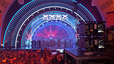 K2imaging projectors in America's Got Talent