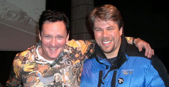 Michael Madsen and Karl Mehrer at Sundance Film Festival