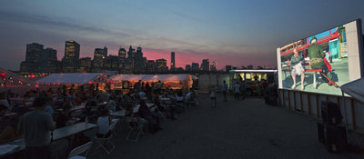 Photoville New York City Skyline